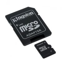 Карта памяти Kingston 128GB microSD 10 CLASS