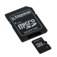 Карта памяти Kingston 8GB microSD 10 CLASS